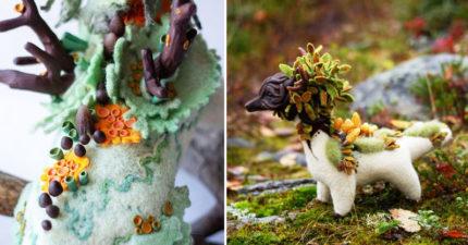 藝術家最擅長「用秋天」當材料!宮崎駿的「夢幻神龍」重生了