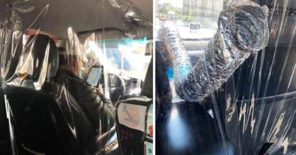 19個防疫期間「最讓人安心」的優良司機 台灣小黃也上榜!