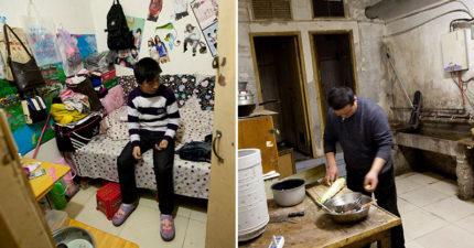 中國百萬人被曝「住地下室求生」唯一心願:希望孩子「住地面」