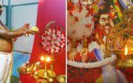 印度開始膜拜「病毒女神」 蓋神社瘋祈禱:夠誠心就能結束疫情