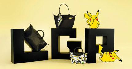 滿滿的皮卡丘!「Longchamp x 寶可夢」超萌聯名 低調「壓紋款」搶先曝光