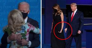 最終辯論...川普VS拜登「老婆互動」超大差異?眼尖網見她「擦手」好尷尬