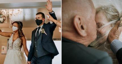 精選「2020婚禮攝影獎」照片 「戴口罩念誓詞」仍讓人感動