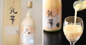 「乳華」真的存在!日本「專利釀造牛奶酒名」台灣網友嗨翻:買爆