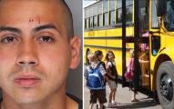 菜鳥軍人「持槍挾持校車」 18小學生「連環炮提問」他崩潰棄車