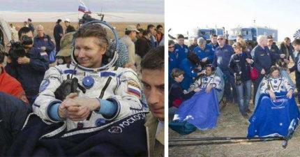 太空人回地球後為何都是「被抬出來」?原因曝光讓人心碎:身體壞了