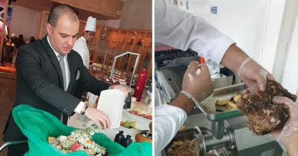客人每天吃剩食物!五星大廚回收製「頂級狗食」送收容所:浪浪不用挨餓了