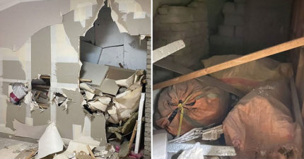 搬新家開心裝修 打掉牆掉出「整座垃圾山」