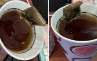 喝包裝飲料被「異物」堵住 倒出來一看噁爆:不是茶包!