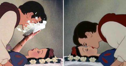 王子親吻前「沒有問過公主」!專家怒轟迪士尼:不尊重女生