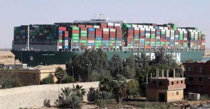 長賜號還在卡!全球280億貨物卡埃及 IKEA、聯想都是苦主